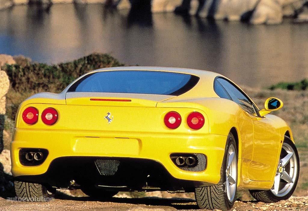 Ferrari Modena F on 2000 Cadillac V8