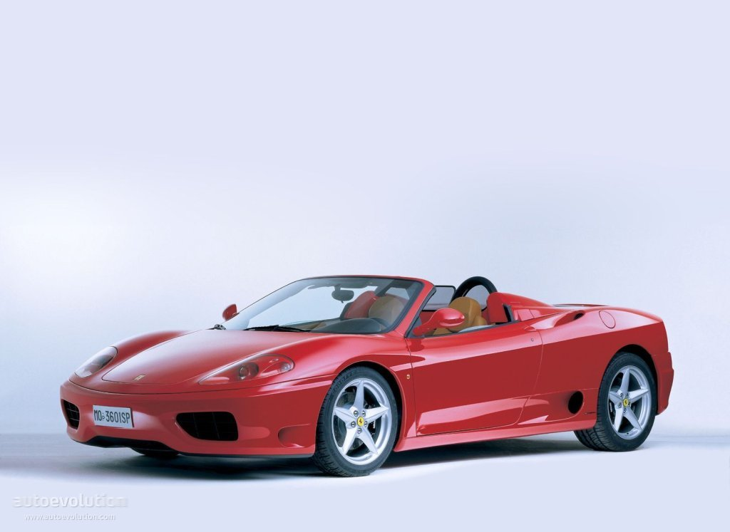 Ferrari 360 Spider Spezifikationen Fotos 2000 2001 2002 2003 2004 2005 Autoevolution In Deutscher Sprache