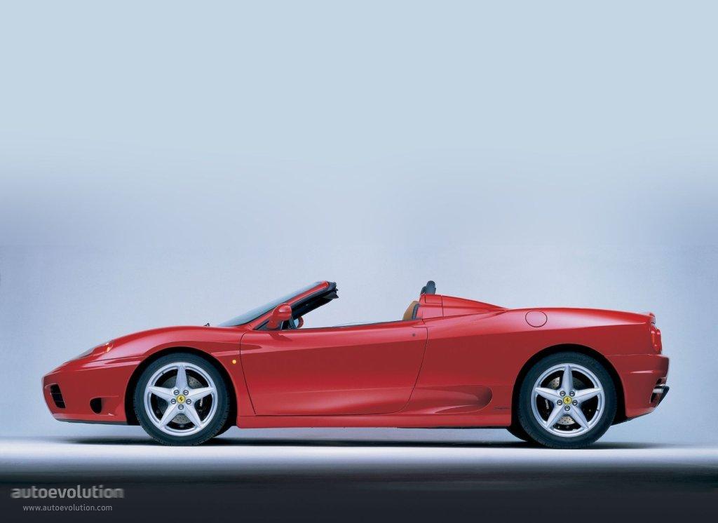 Ferrari 360 Spider Specs Photos 2000 2001 2002 2003 2004