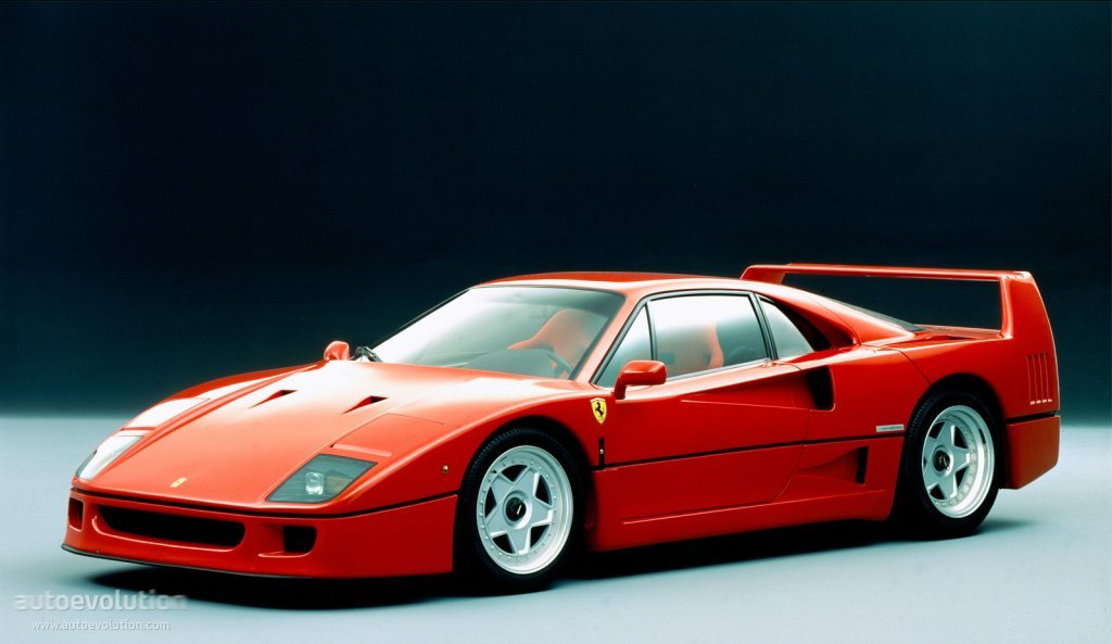 Ferrari F40 Spezifikationen Fotos 1987 1988 1989 1990 1991 1992 Autoevolution In Deutscher Sprache