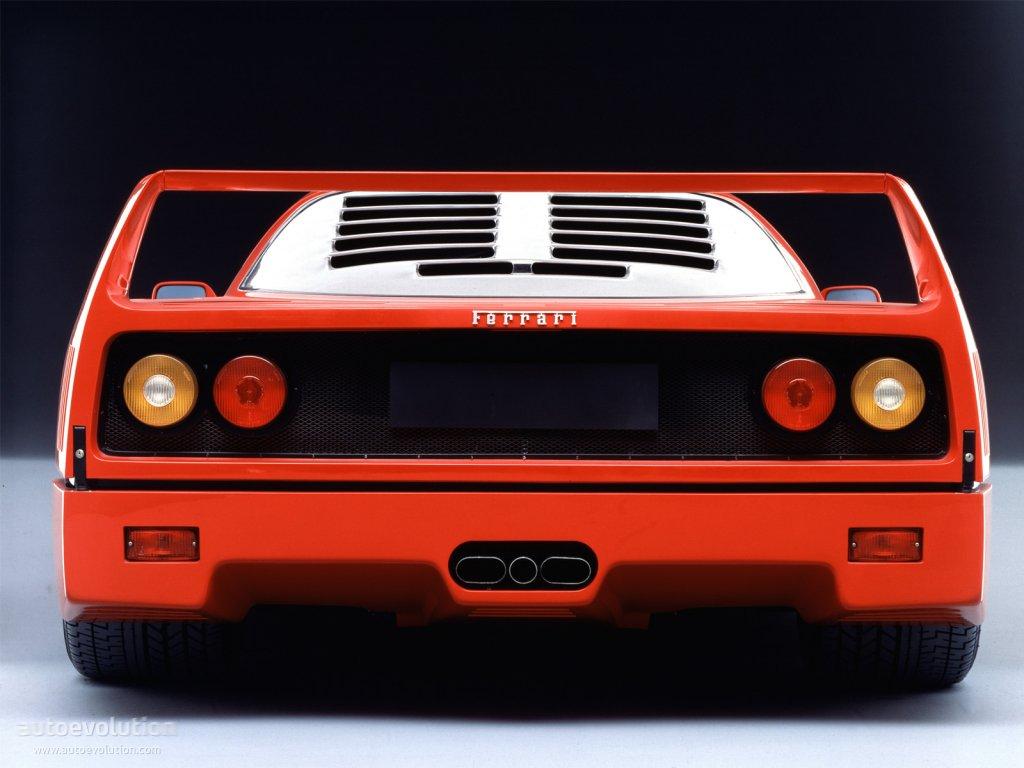 Ferrari F40 1987 1988 1989 1990 1991 1992