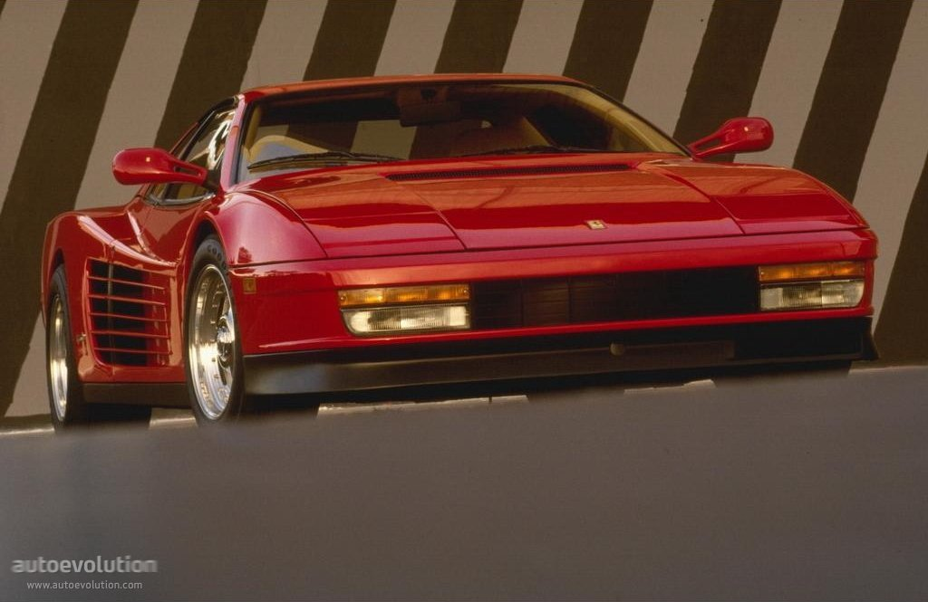 Ferrari testarossa hp