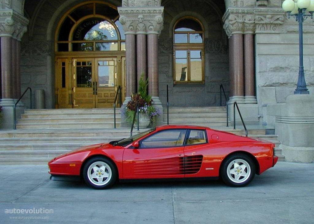 Ferrari Testarossa Specs Amp Photos 1984 1985 1986 1987