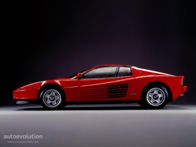 Ferrari Testarossa Spezifikationen Fotos 1984 1985 1986 1987 1988 1989 1990 1991 Autoevolution In Deutscher Sprache