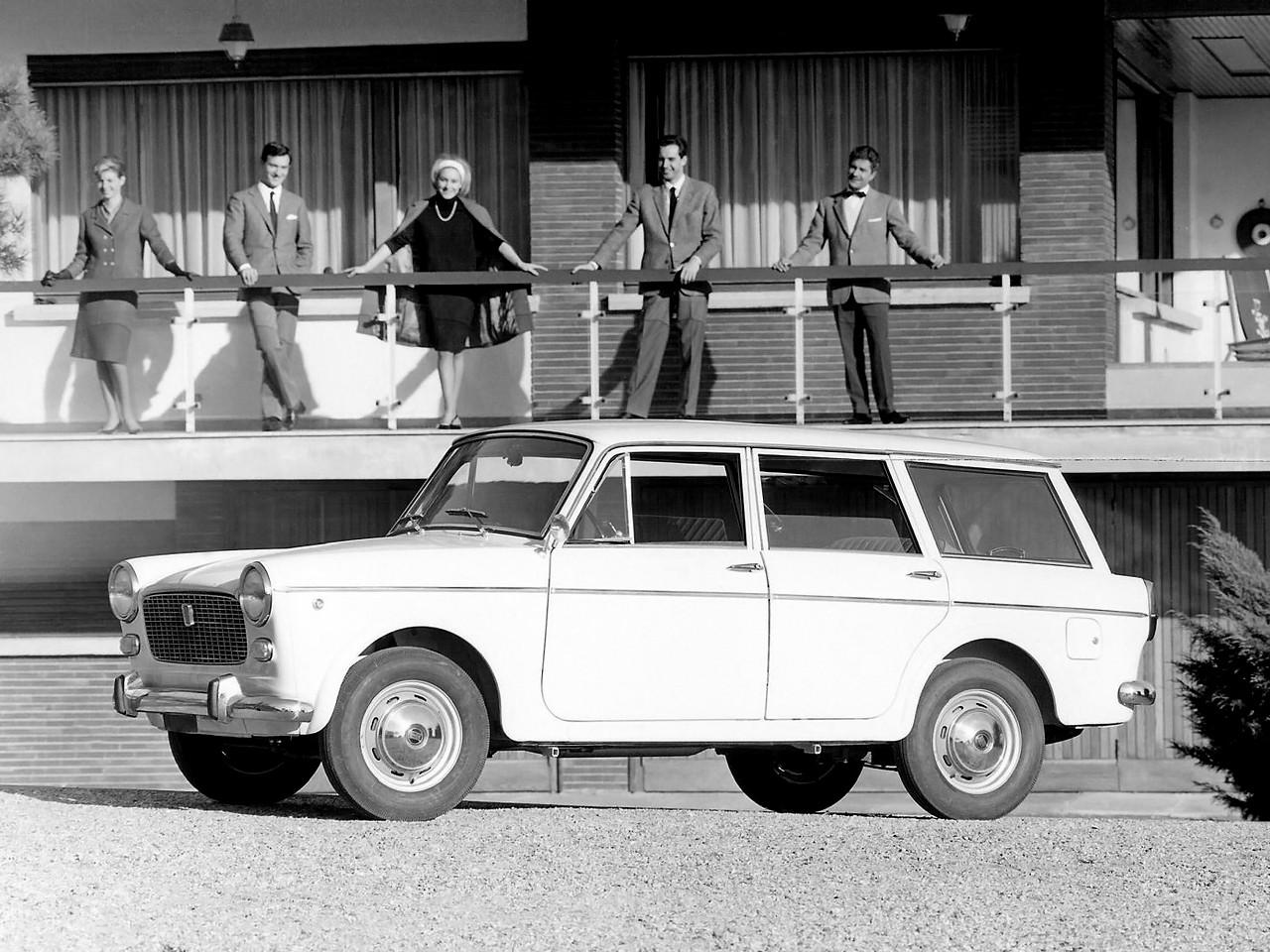 Fiat 1100 D Station Wagon Specs Amp Photos 1962 1963