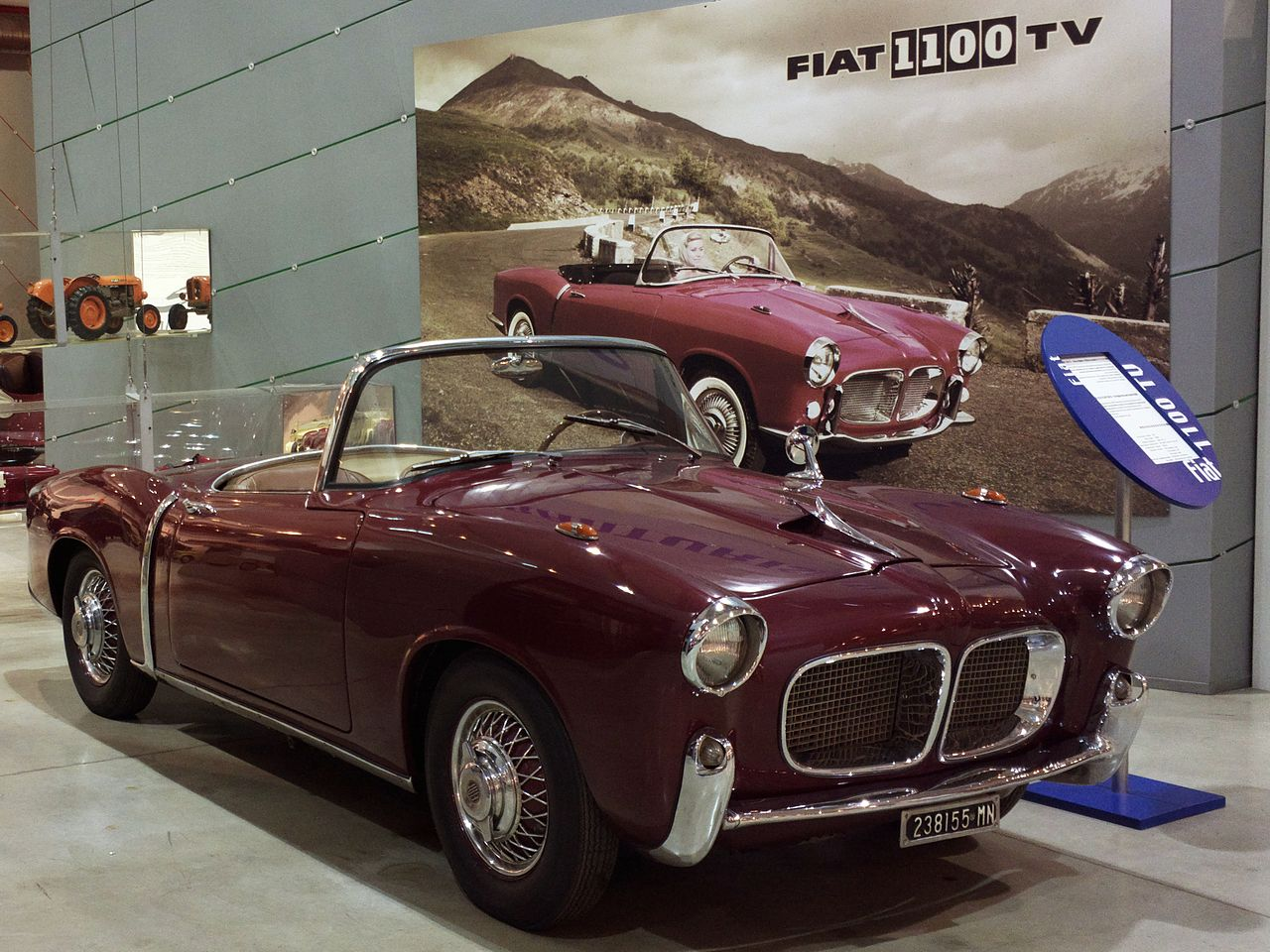 Fiat 1100 Tv Spider 1955 on fisker spider