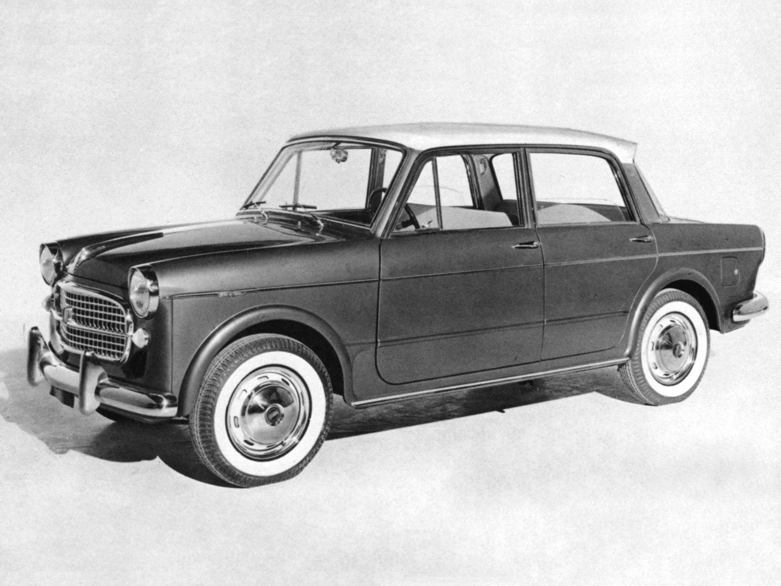 Fiat 1200 1957 1958 1959 1960 1961 Autoevolution