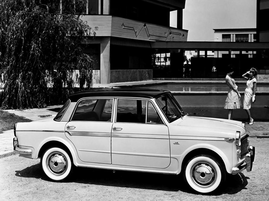 1957 Aston Martin >> FIAT 1200 - 1957, 1958, 1959, 1960, 1961 - autoevolution