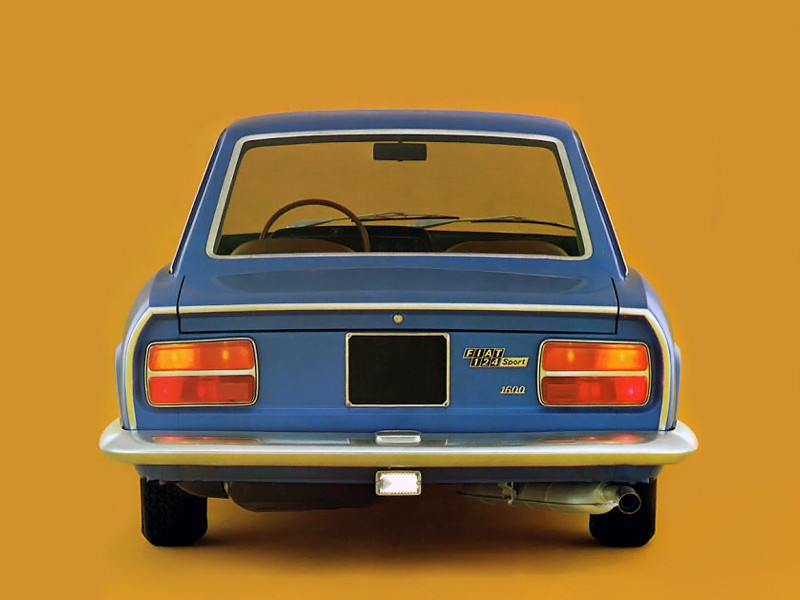 Fiat 124 coupe 1972