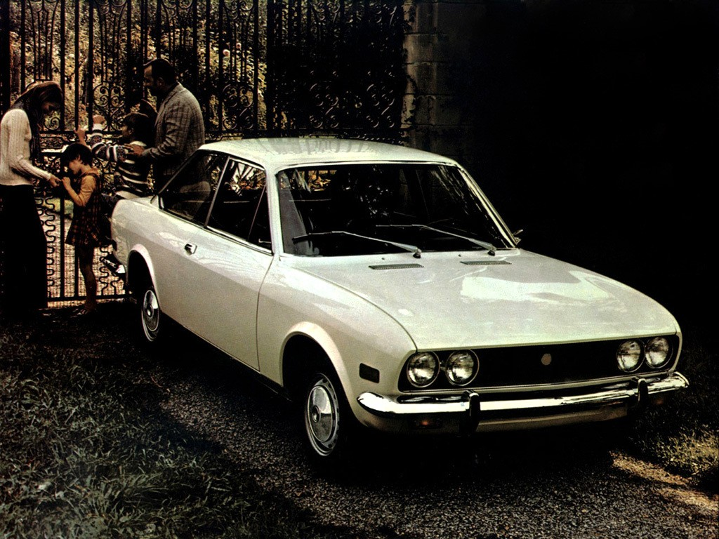 Fiat 124 Sport Coupe Bc 1969 1970 1971 1972