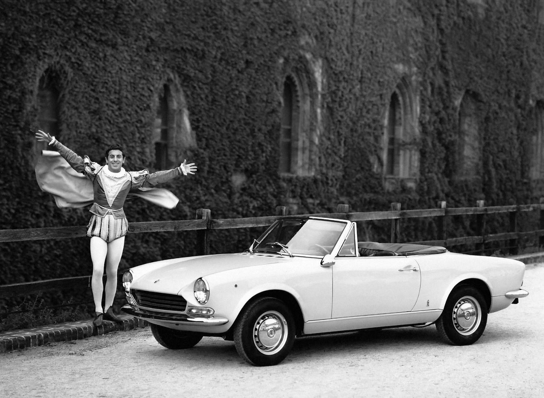 Fiat 124 Sport Spider 1966 1967 1968 1969 Autoevolution