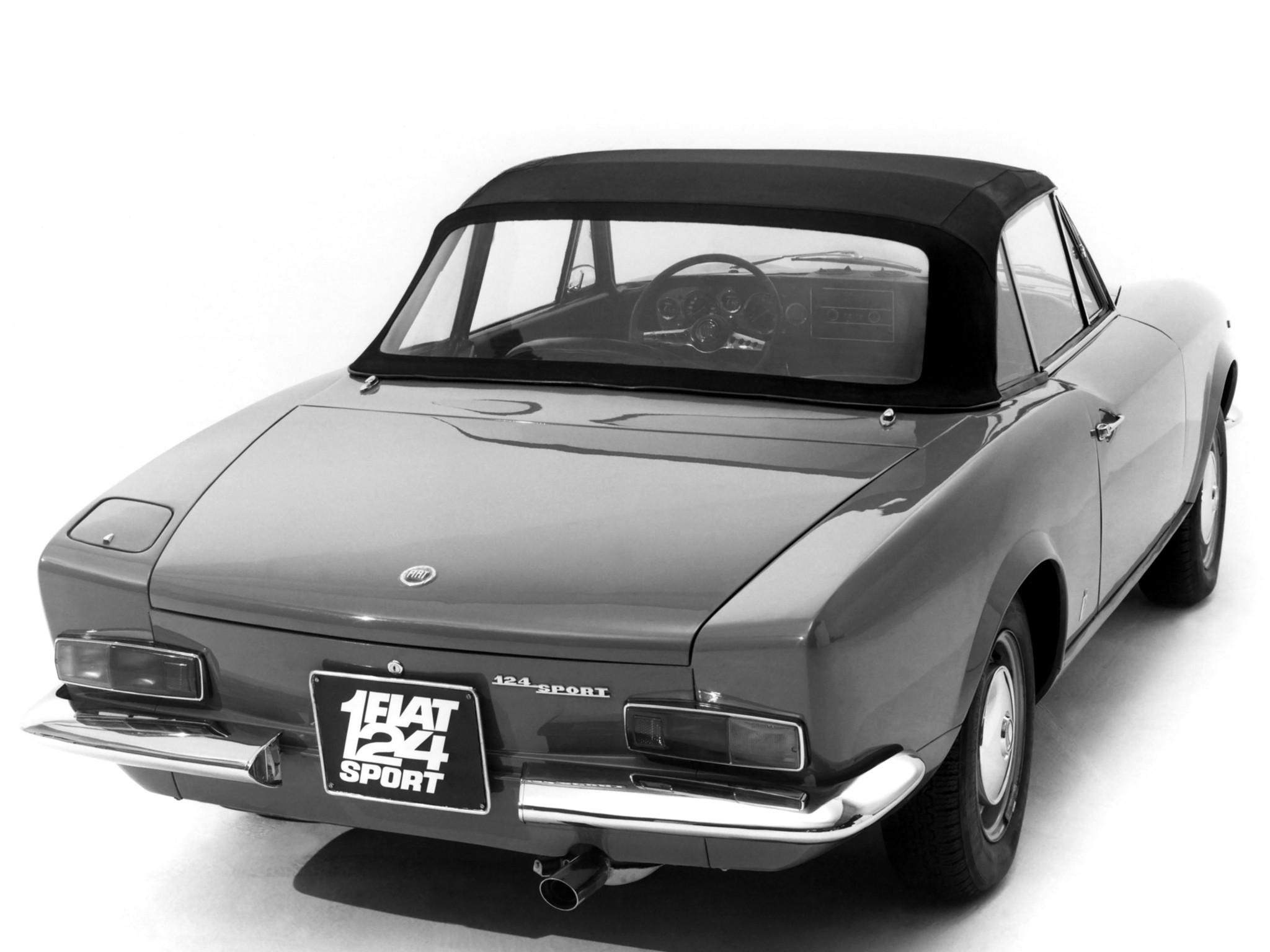 Fiat 124 Sport Spider Specs Amp Photos 1966 1967 1968