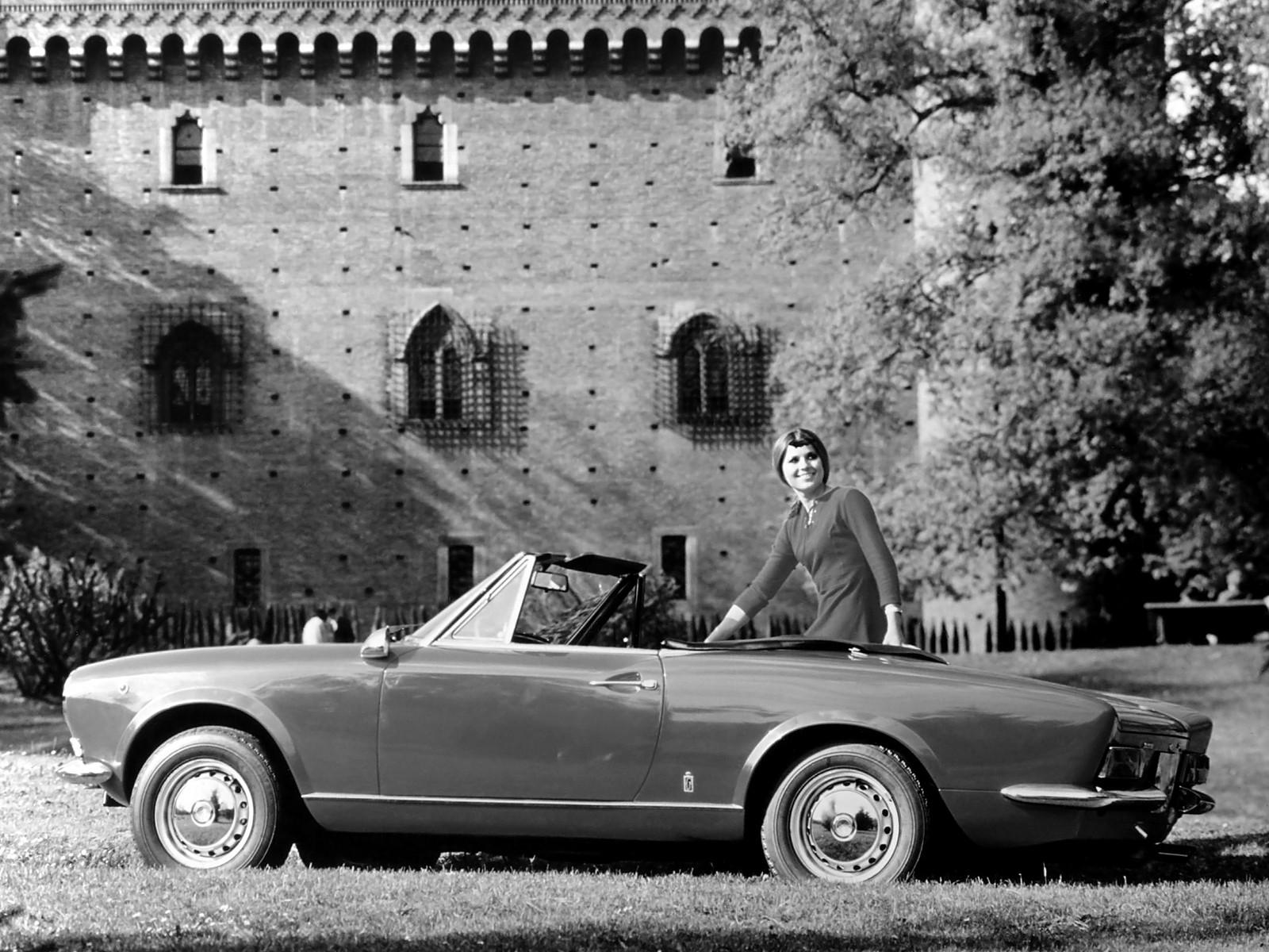 Fiat 124 Sport Spider Specs Photos 1969 1970 1971 1972 Convertible