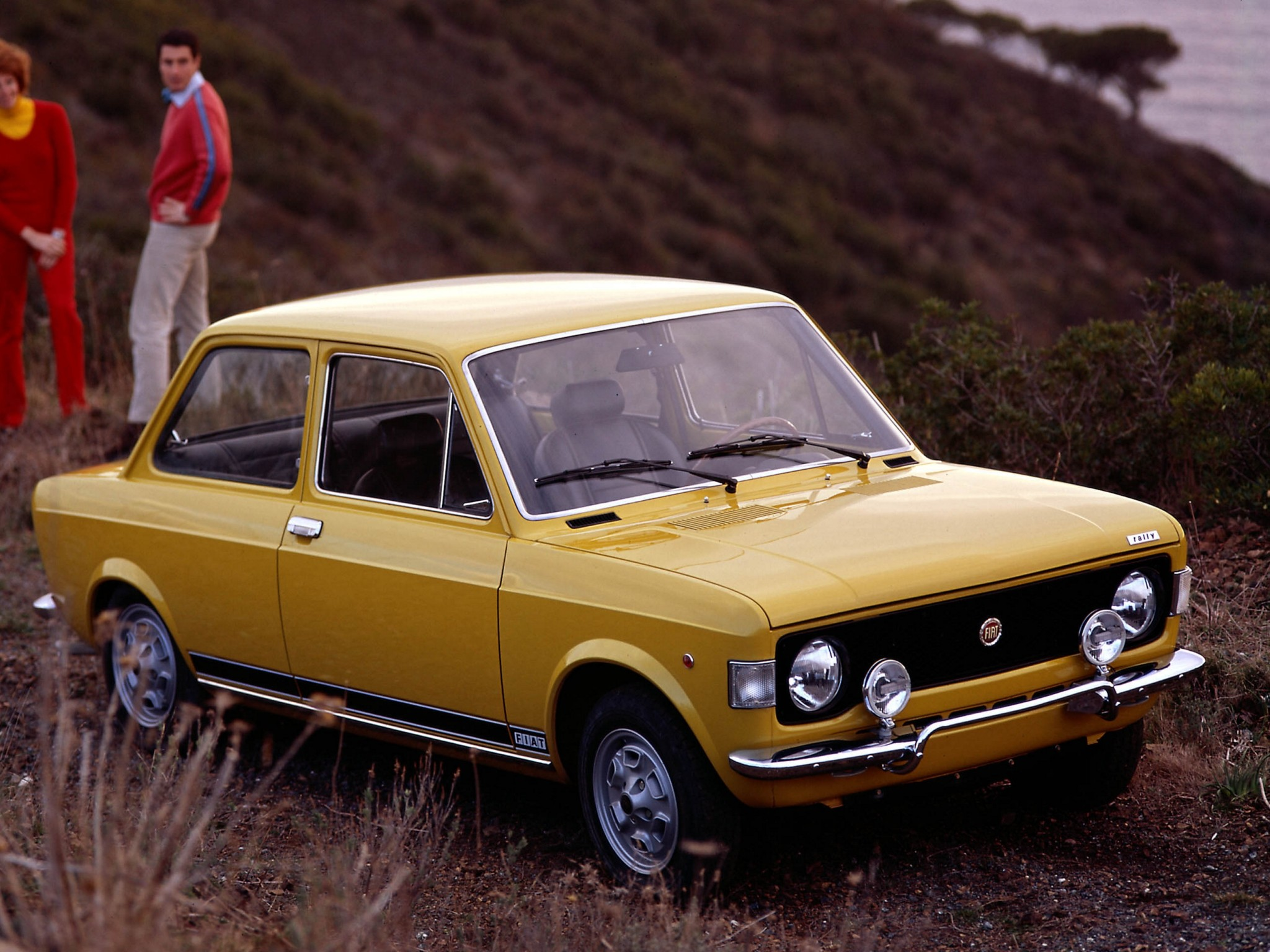 Fiat Rally on 1973 Fiat 128 Sport Coupe