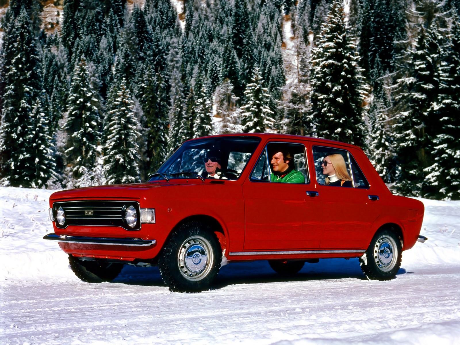 Fiat 128 Saloon 1969 1970 1971 1972 1973 1974 1975