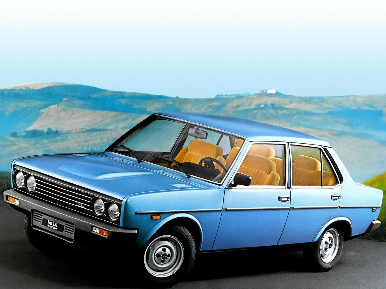 Fiat 131 Mirafiori 4 Doors Specs 1978 1979 1980 1981