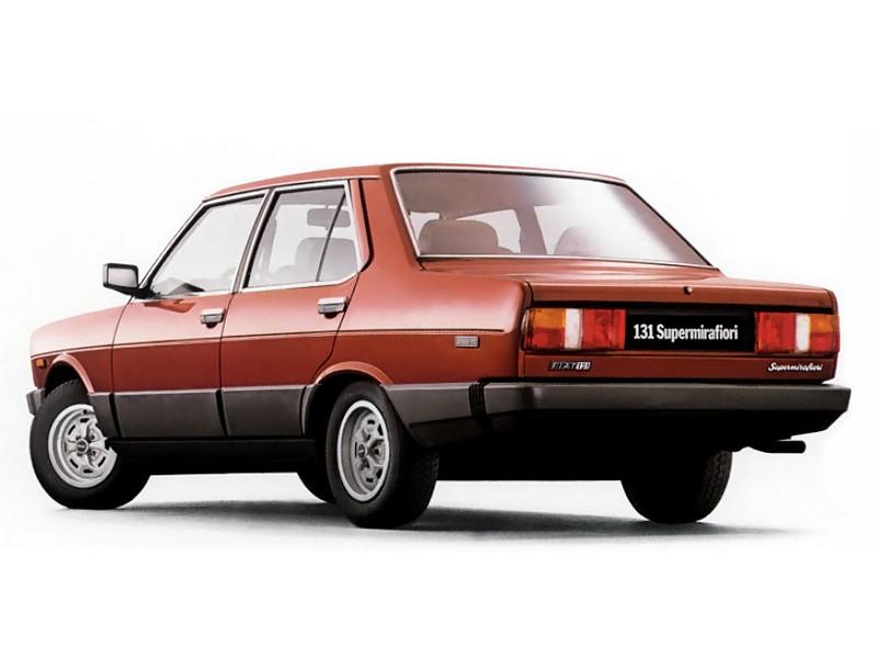 Fiat 131 Supermirafiori 4 Doors 1978 1979 1980 1981