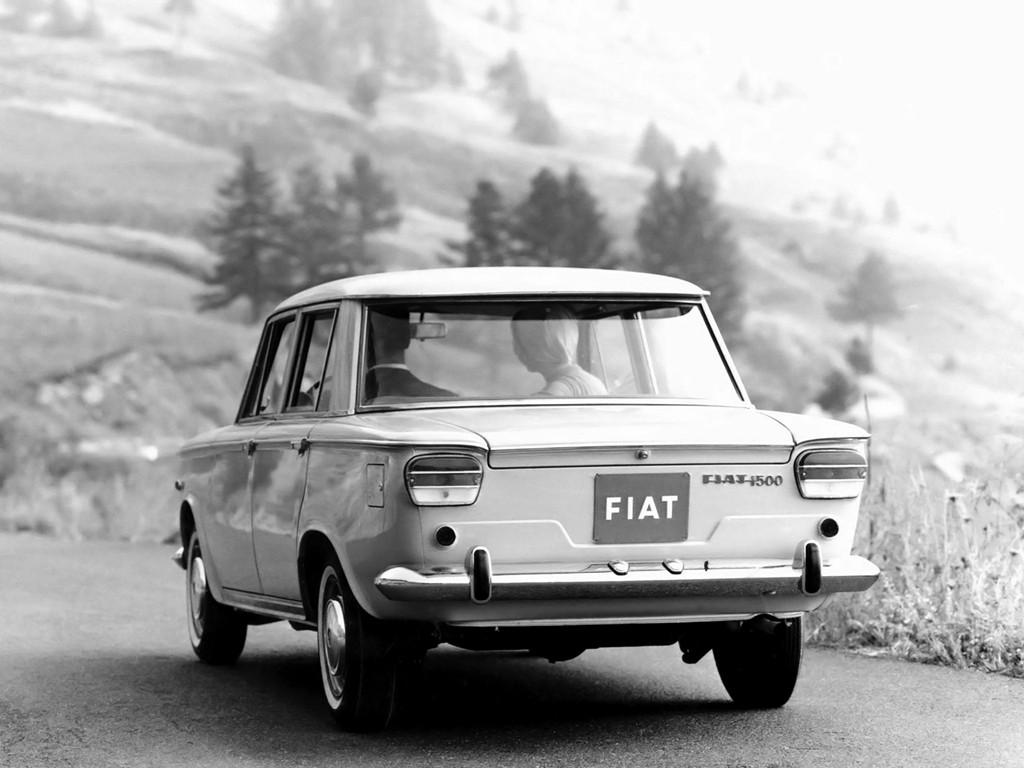 Fiat 1500 1961 1962 1963 1964 1965 1966 1967
