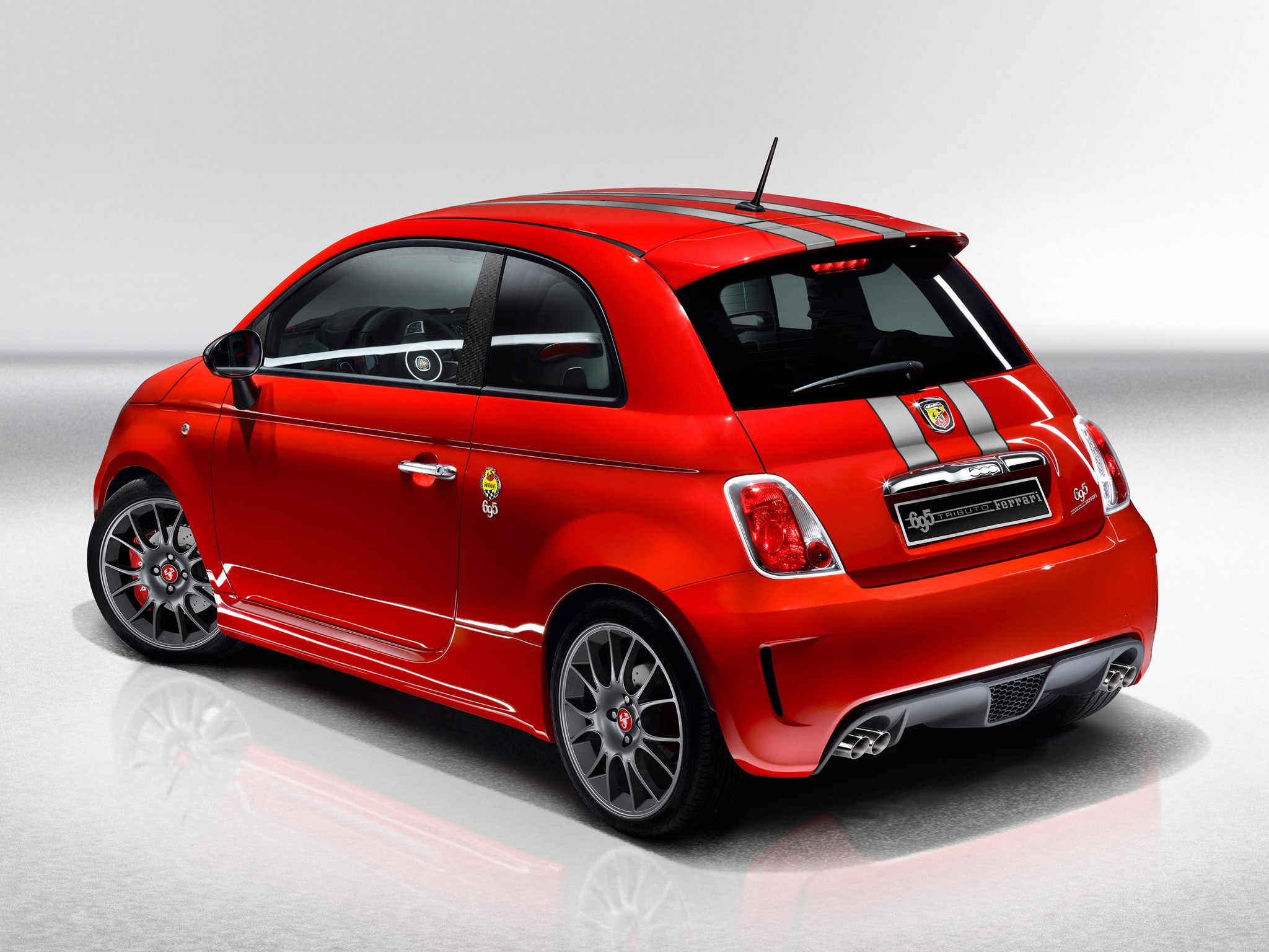 fiat 500 abarth 695 tributo ferrari specs photos 2009. Black Bedroom Furniture Sets. Home Design Ideas