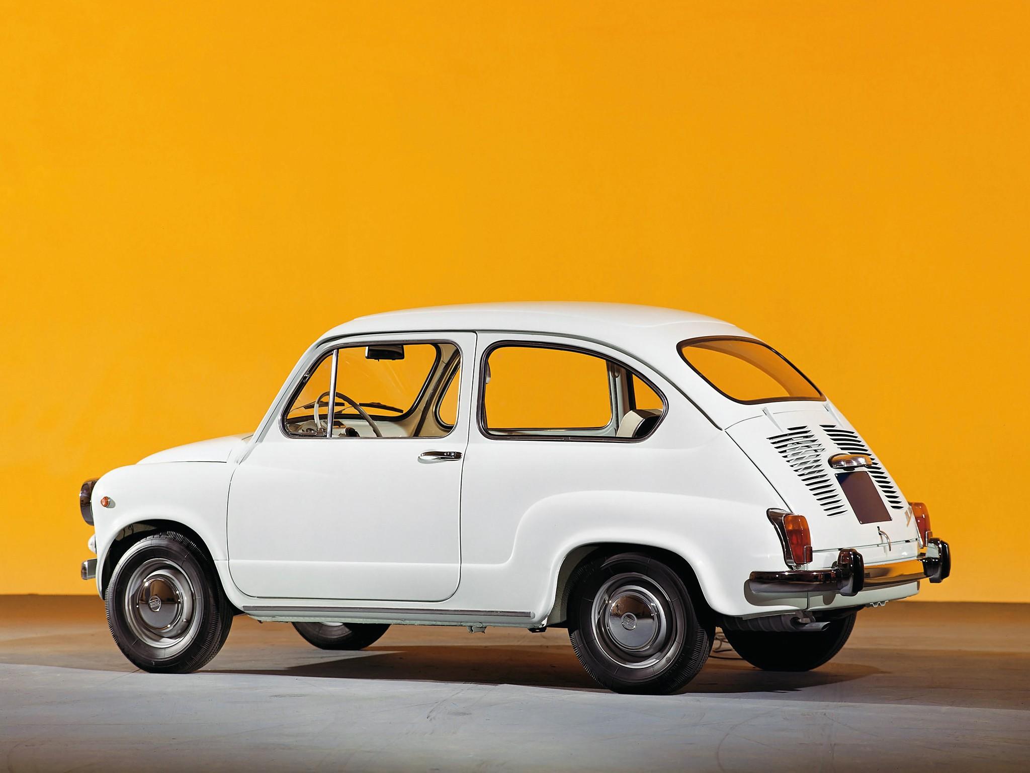 FIAT 600 - 1955, 1956, 1957, 1958, 1959, 1960, 1961, 1962 ...