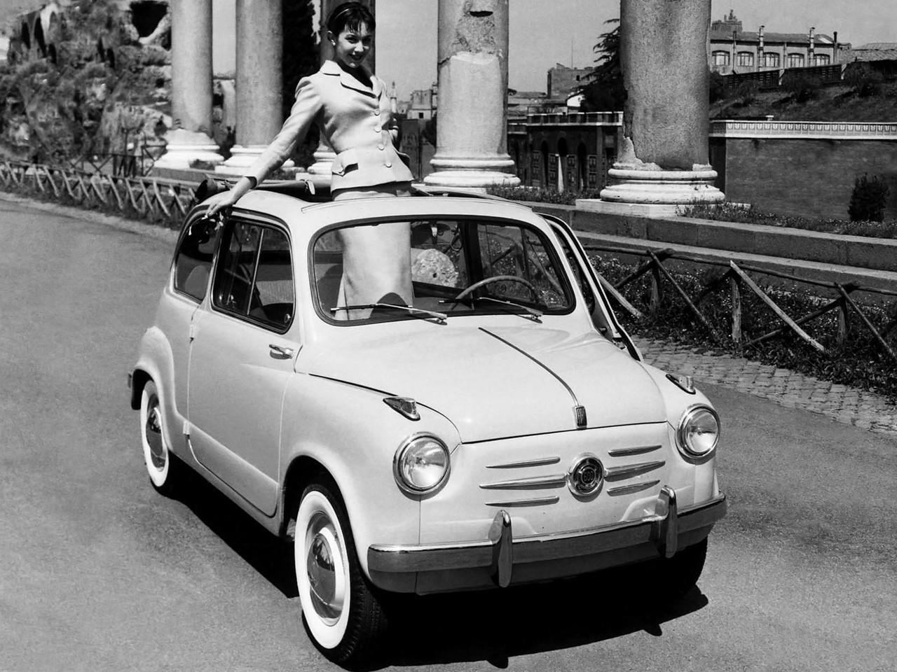 Fiat 600 Specs 1955 1956 1957 1958 1959 1960 1961