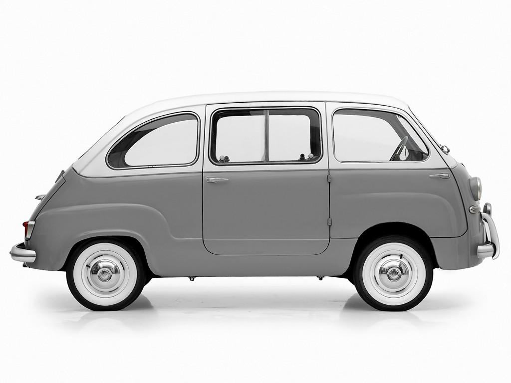 fiat 600 multipla 1955 1956 1957 1958 1959 1960 autoevolution. Black Bedroom Furniture Sets. Home Design Ideas