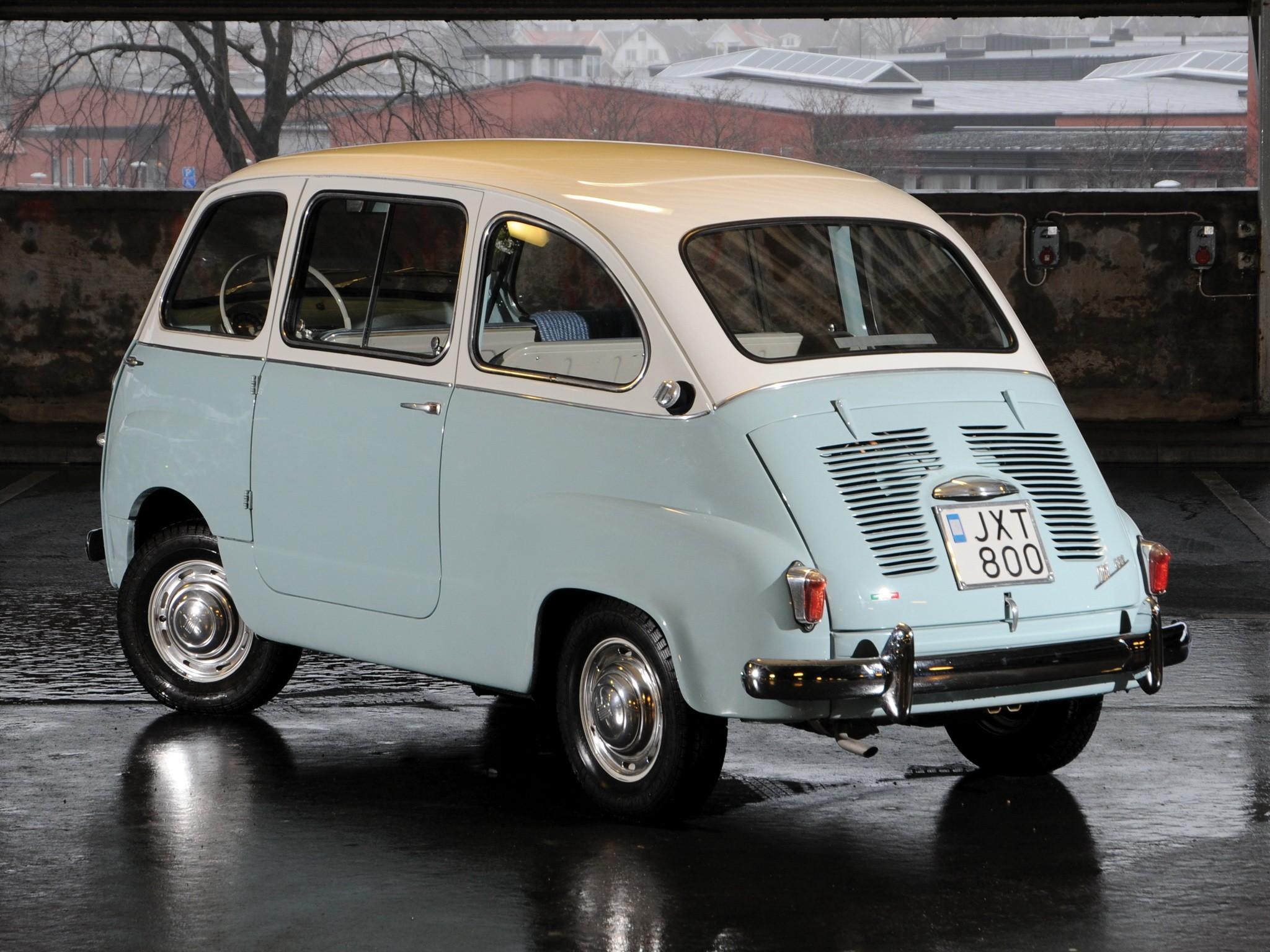 FIAT 600 Multipla specs & photos - 1955, 1956, 1957, 1958 ...
