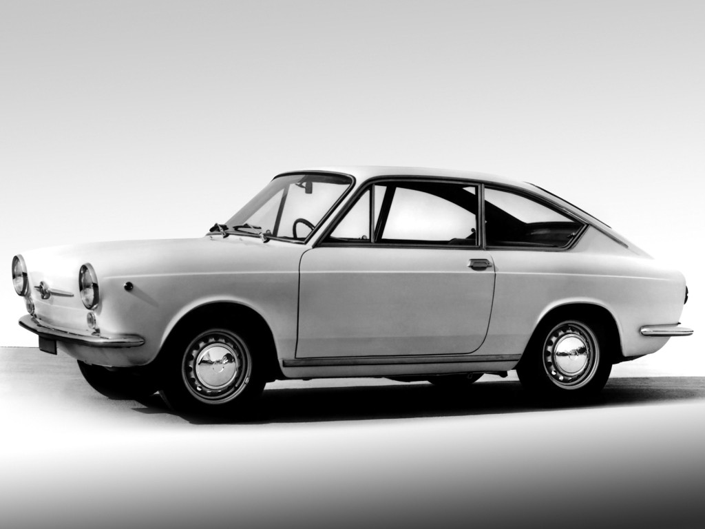 FIAT 850 Coupe specs & photos - 1965, 1966, 1967, 1968 - autoevolution