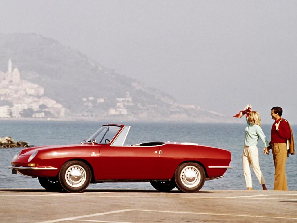 FIAT 850 Sport Spider specs - 1968 - autoevolution