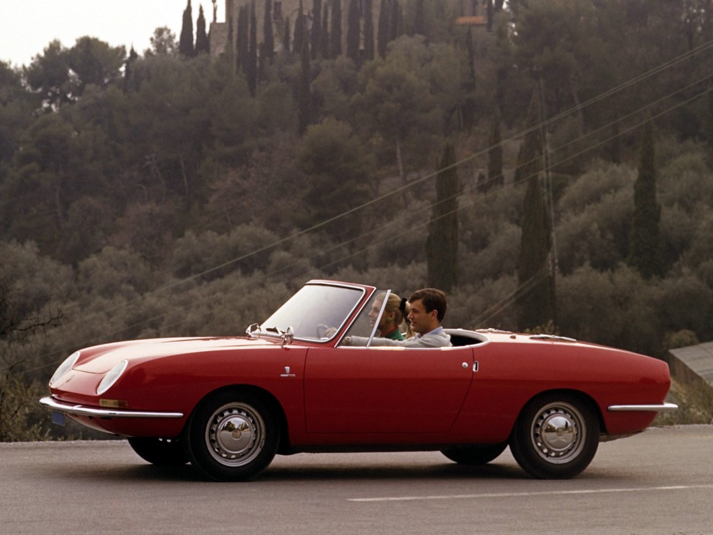 Fiat 850 Sport Spider 1968 on fisker spider