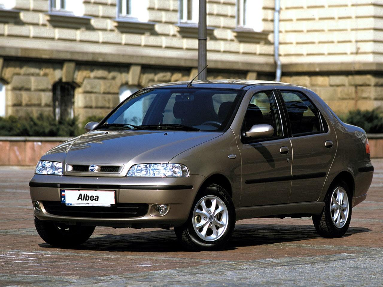 FIAT Albea/Siena specs & photos - 2002, 2003, 2004, 2005 ...