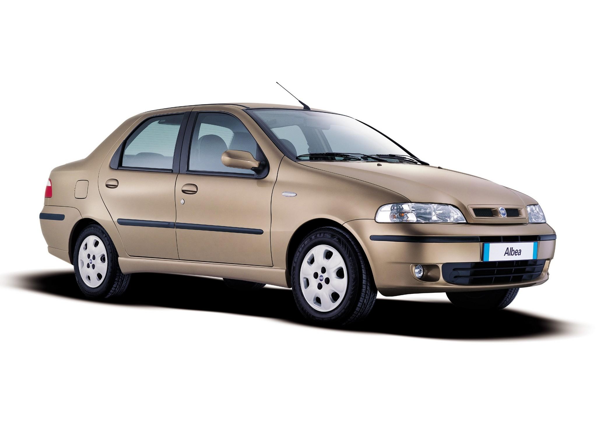 FIAT Albea/Siena specs - 2002, 2003, 2004, 2005 ...