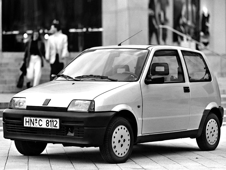 Fiat Cinquecento Specs 1992 1993 1994 1995 1996