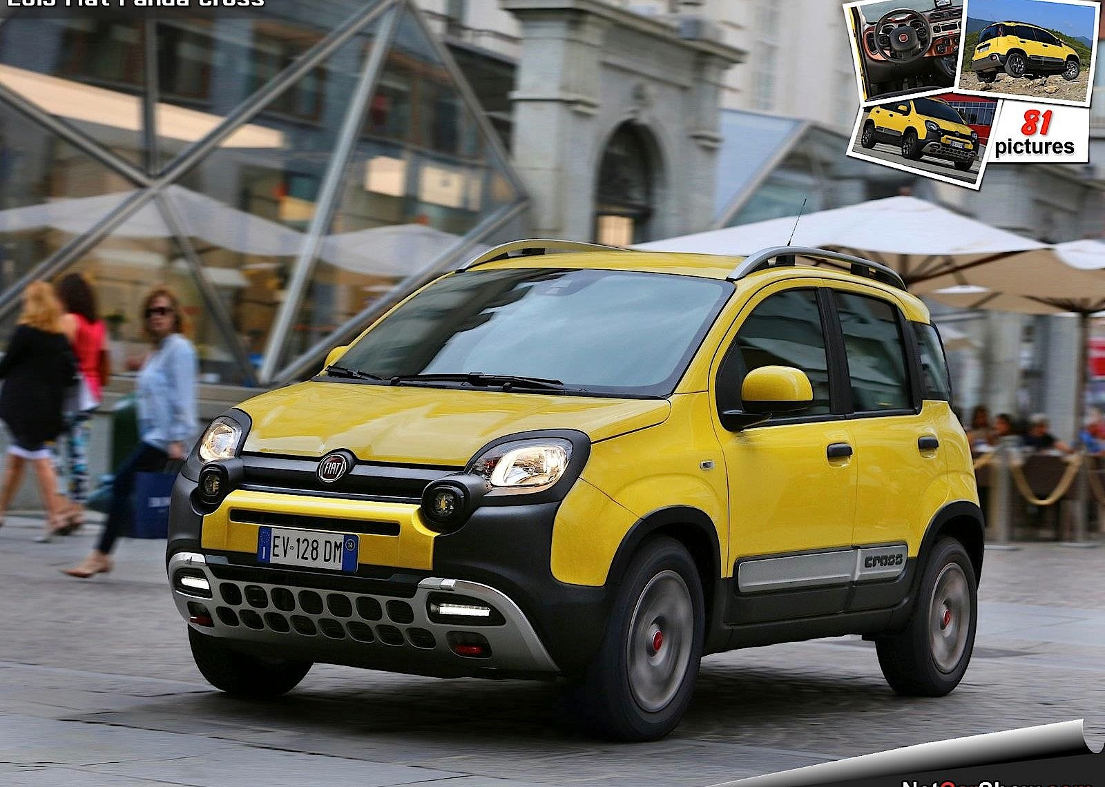 fiat panda cross specs 2014 2015 2016 2017 2018 autoevolution. Black Bedroom Furniture Sets. Home Design Ideas