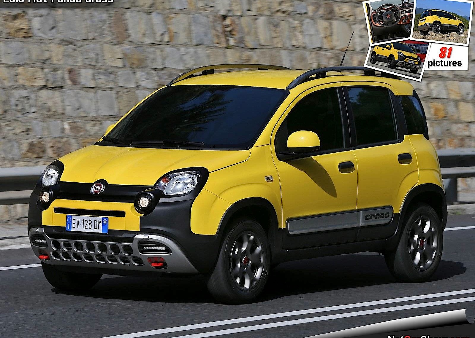 fiat panda cross specs photos 2014 2015 2016 2017. Black Bedroom Furniture Sets. Home Design Ideas