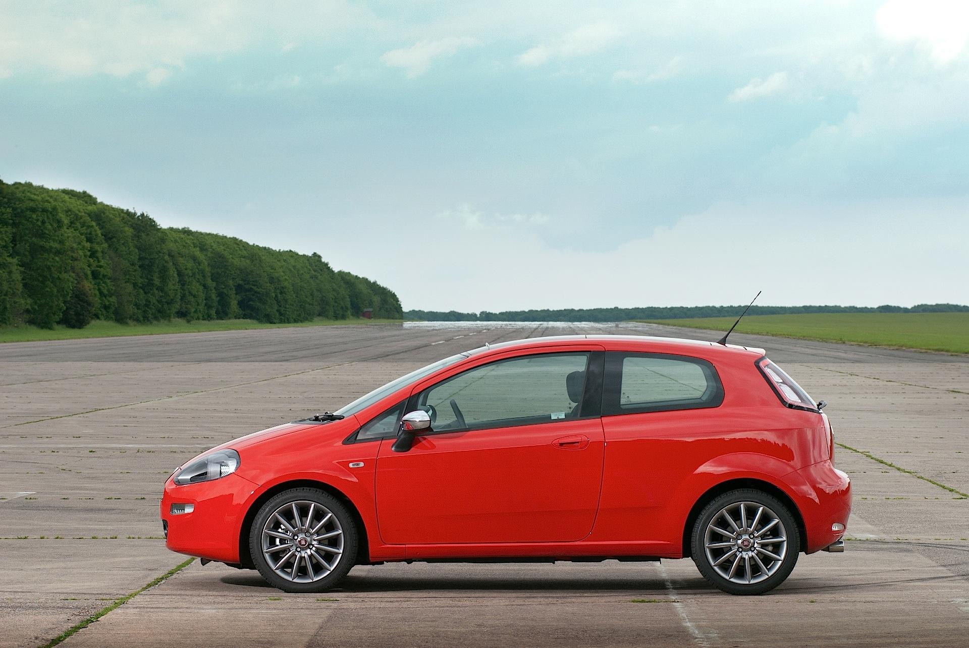 Fiat Punto 3 Doors 2012 2013 2014 2015 2016