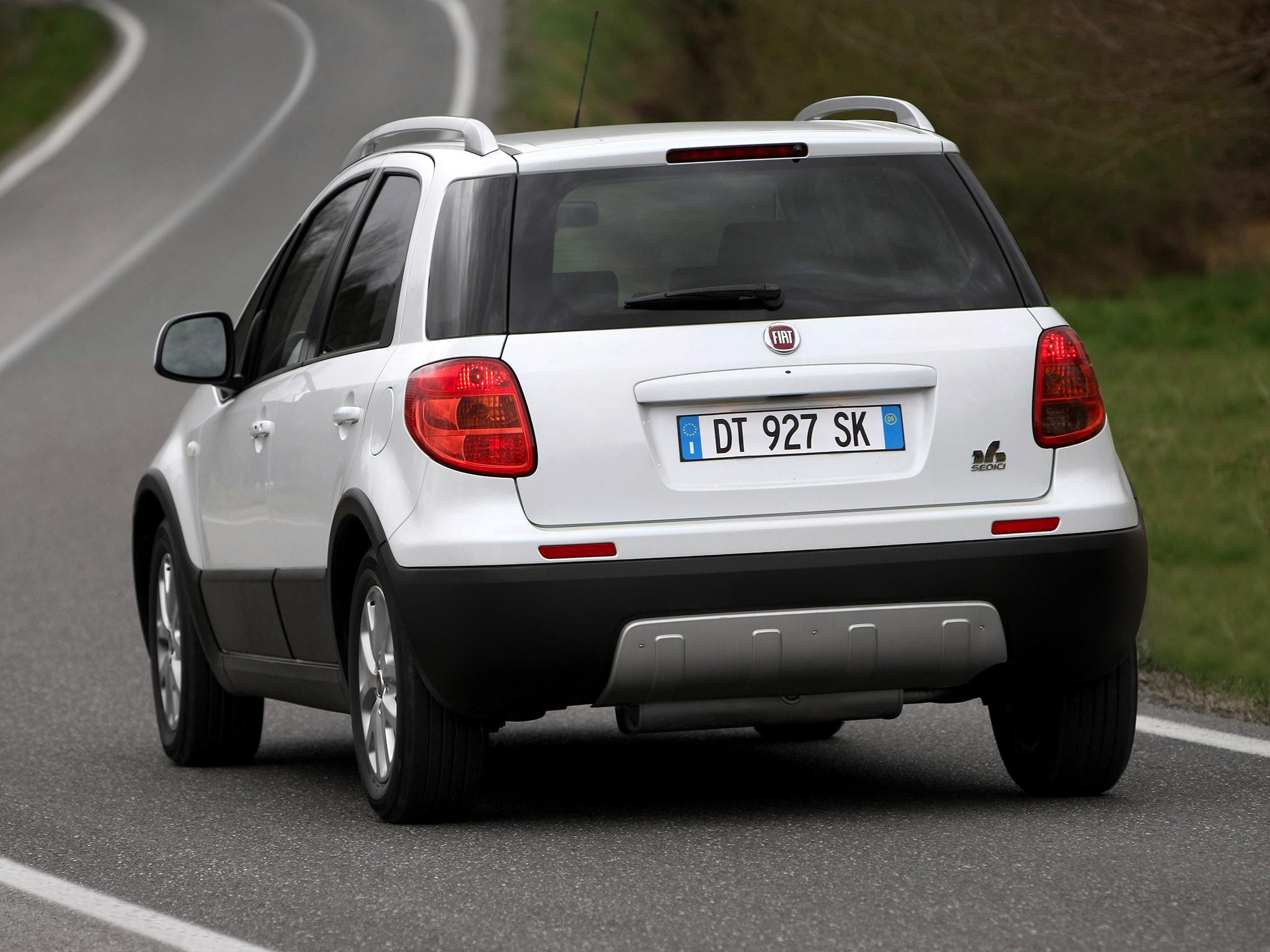 Fiat Sedici Specs Amp Photos 2009 2010 2011 2012 2013
