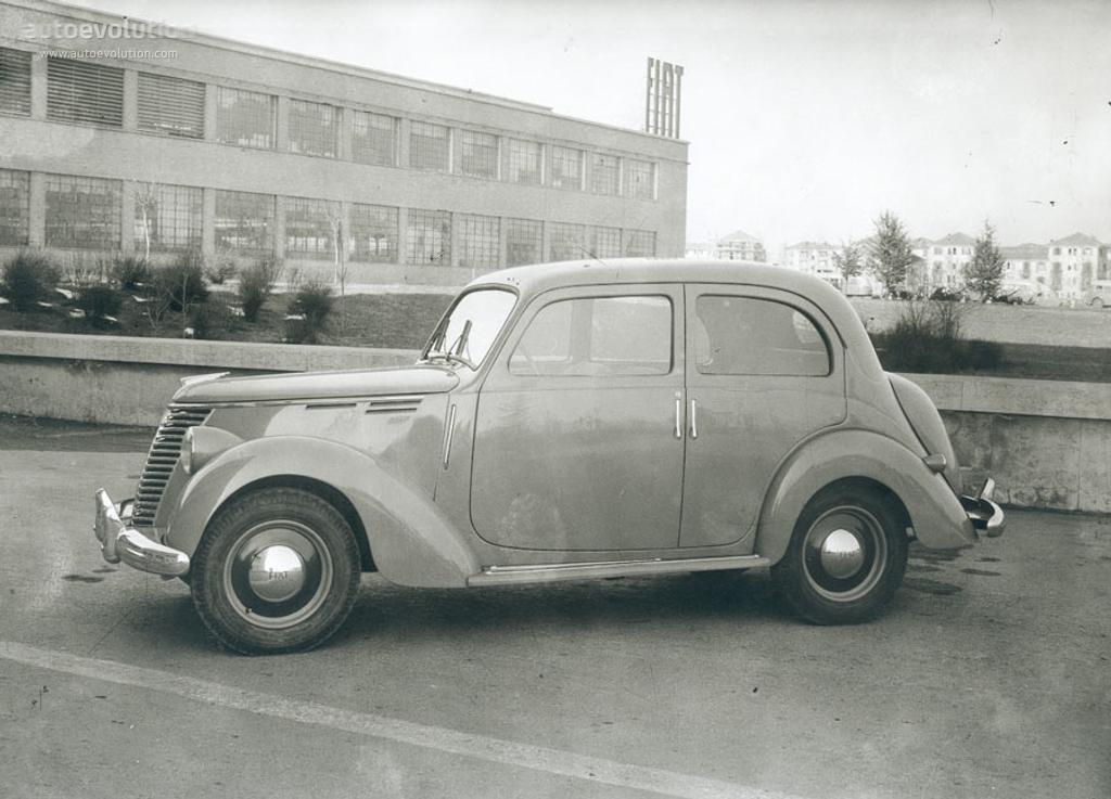 Fiat 1100 E 1949 1950 1951 1952 1953 Autoevolution