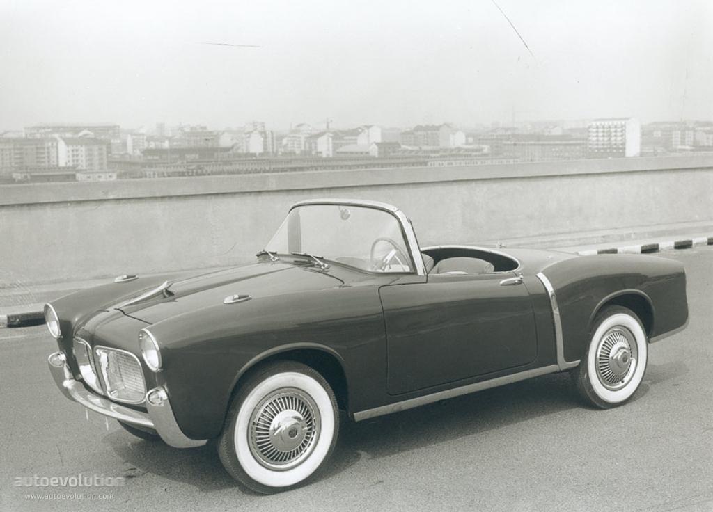 Fiat 1100 Tv Spider 1955 1956 1957 1958 1959 1960
