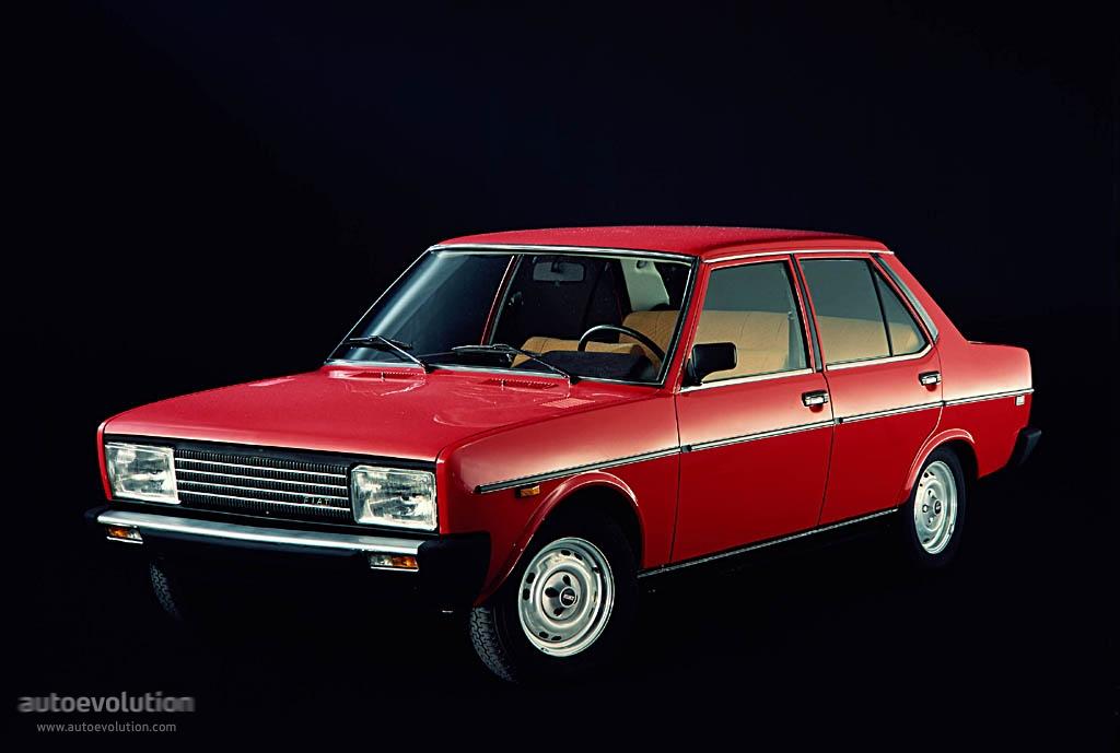 FIAT 131 Mirafiori 4 doors - 1978, 1979, 1980, 1981 - autoevolution