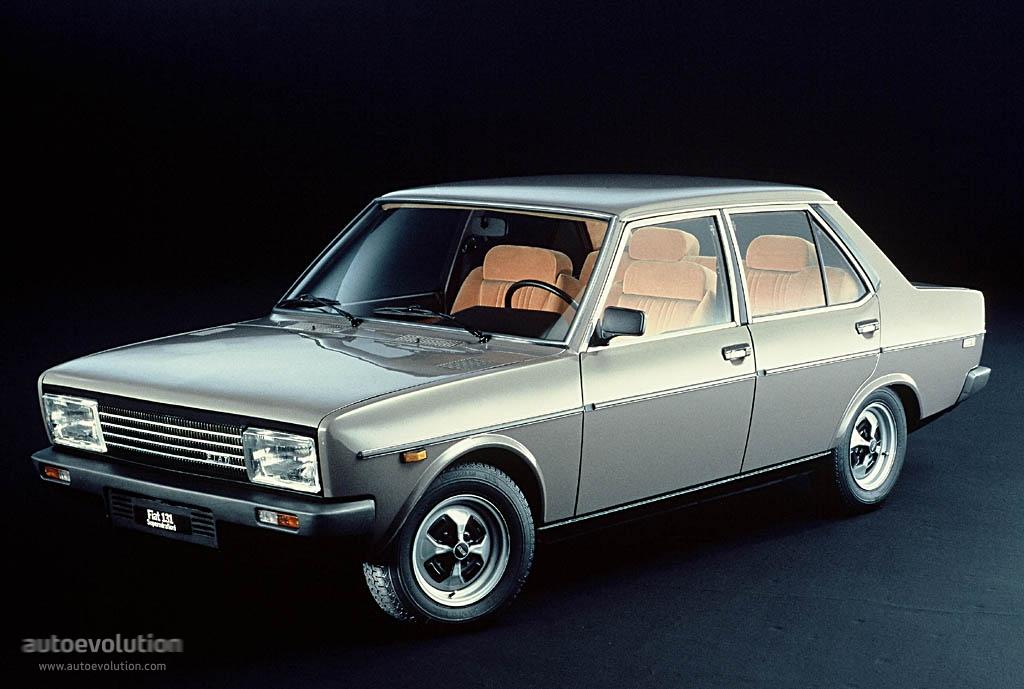 Fiat 131 Supermirafiori 4 Doors 1978 1981