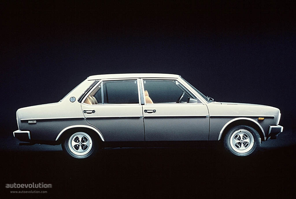 FIAT 131 Supermirafiori 4 doors specs & photos - 1978, 1979