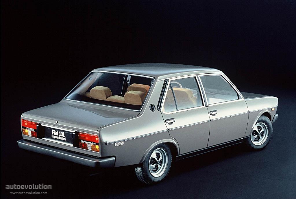 Fiat 131 Supermirafiori 4 Doors Specs Amp Photos 1978