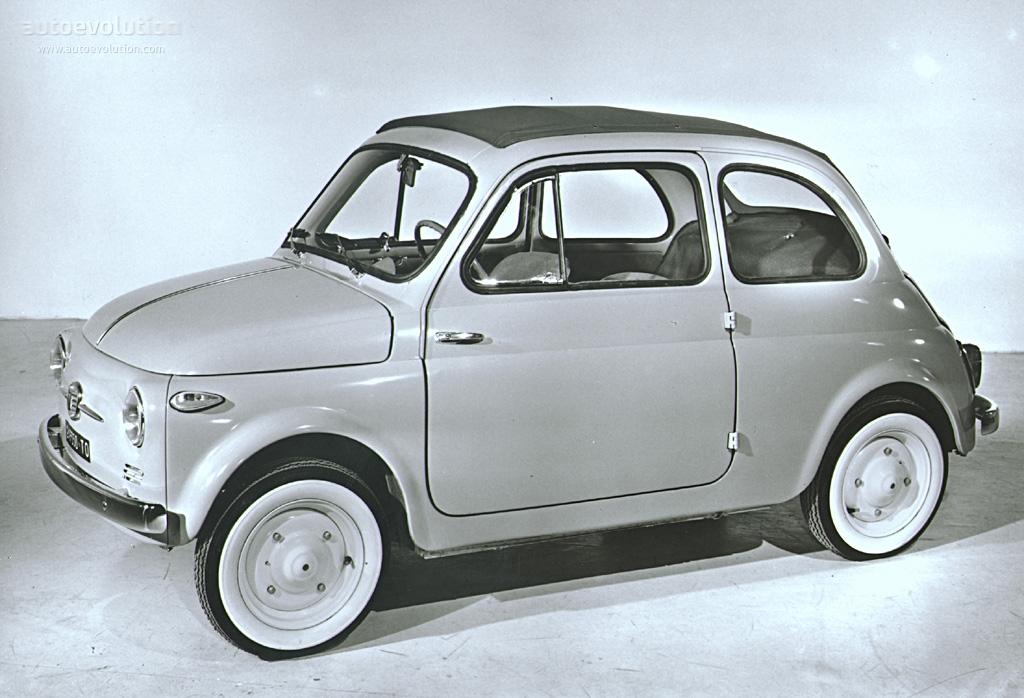FIAT 500 Nouva specs - 1957, 1958, 1959, 1960 - autoevolution