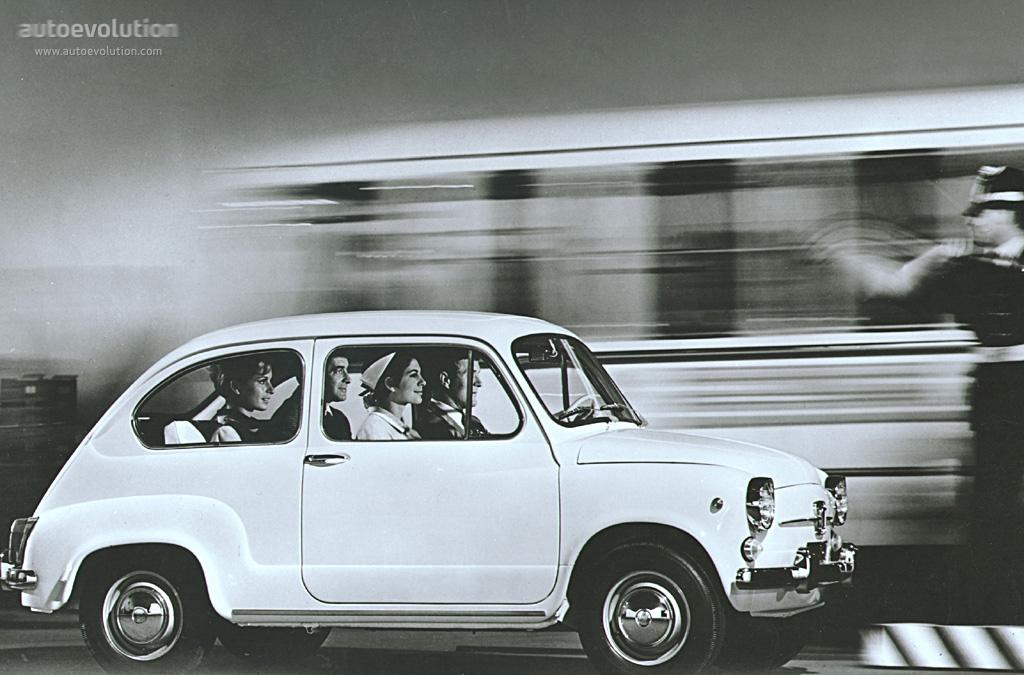 fiat 600 d 1964 1965 1966 1967 1968 1969 autoevolution. Black Bedroom Furniture Sets. Home Design Ideas