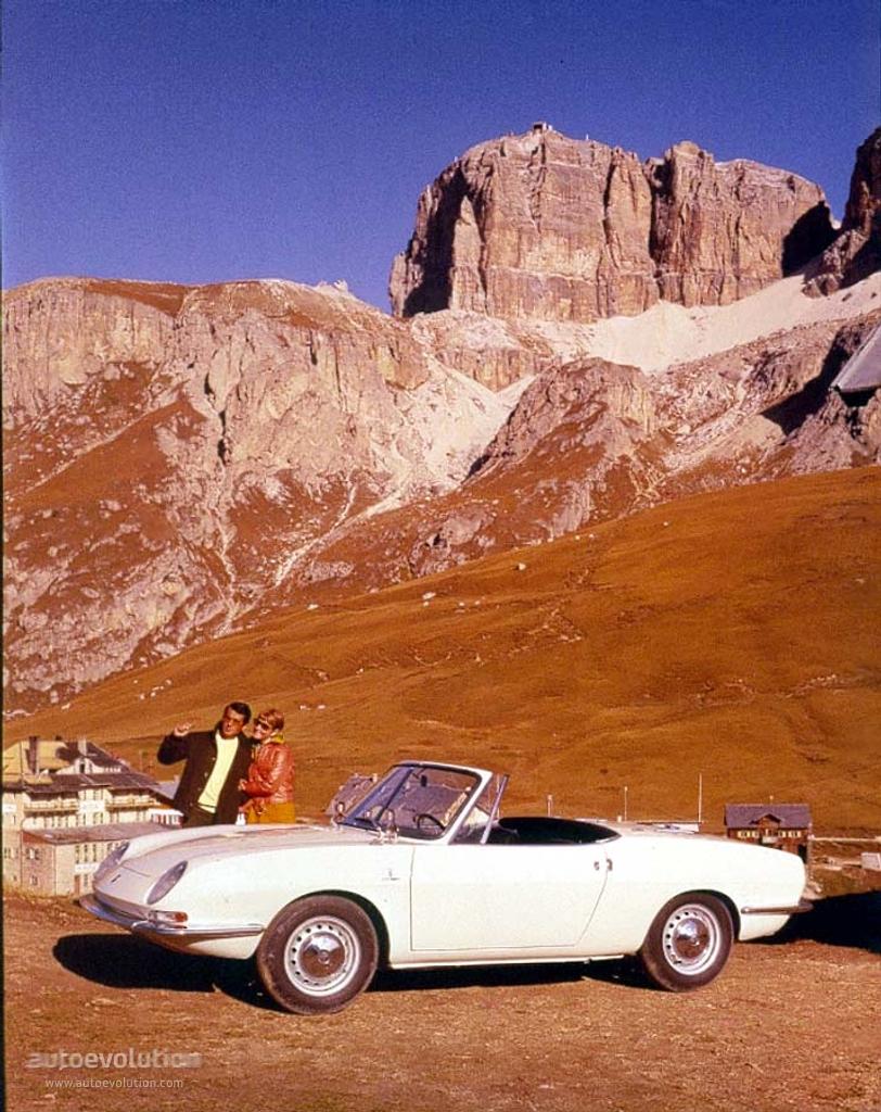 FIAT 850 Spider specs - 1965, 1966, 1967, 1968 - autoevolution