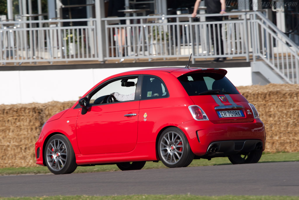 Fiat 500 Abarth 695 Tributo Ferrari Specs Photos 2009 2010