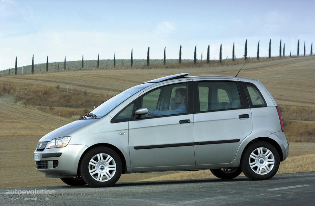 Fiat Idea 2003 2004 2005 2006 2007 2008 2009 2010
