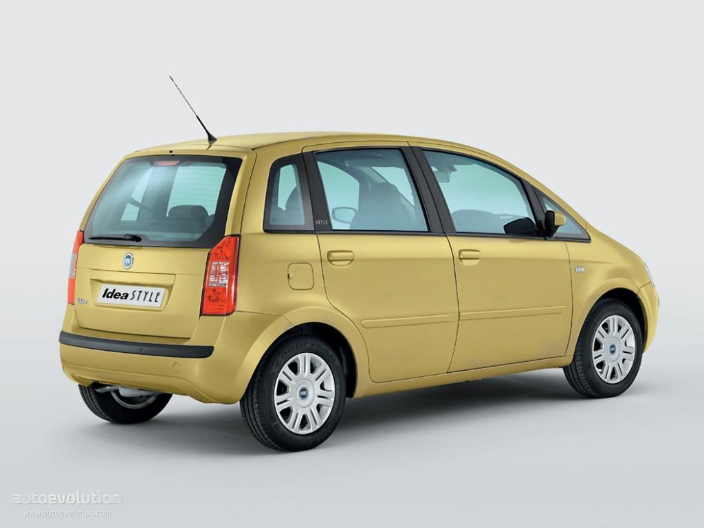 Fiat Idea Specs Amp Photos 2003 2004 2005 2006 2007 2008 2009 2010 Autoevolution