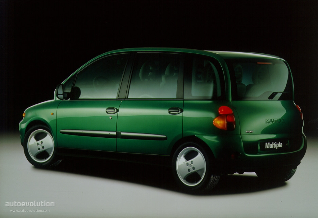 FIAT Multipla specs & photos - 1998, 1999, 2000, 2001, 2002, 2003, 2004 - autoevolution